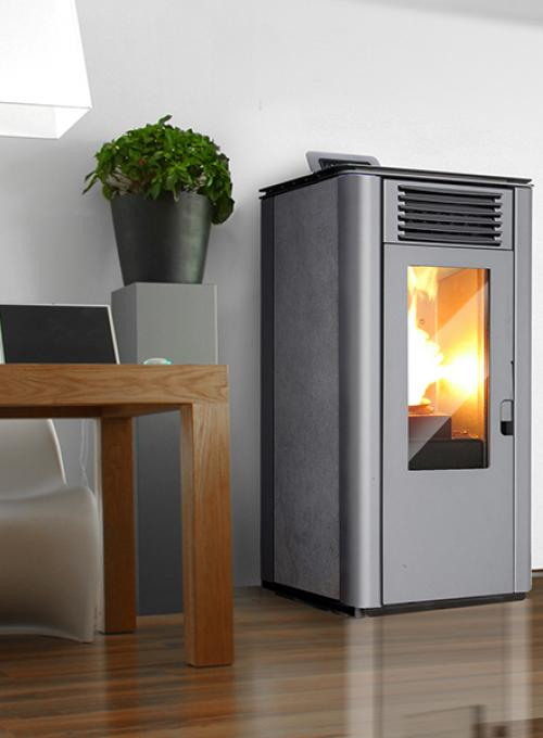 Elite Fire Belga Stove - Pellethoutkachels.nl